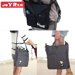 Image 4 - Bolsa de maternidad para cochecito de bebé y madre lactante, organizador de accesorios para silla de bebé, bolsas de pañales de diseño cambiantes, bolso de mano para la mamá