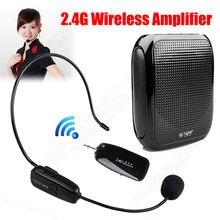 См. меня здесь усилитель голоса T600 10 Вт исходящая громкоговоритель 2,4 г беспроводной микрофон усилитель fm-радио динамик