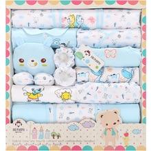 New 100% Cotton 18pcs Baby Clothing sets Infant Newborn Gift Set High Quality Boys Girls Baby Clothes christmas gift цена