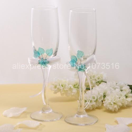 decoration verre de mariage