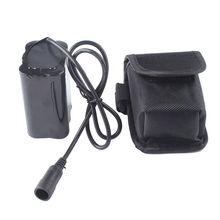 18650 Батарея pack 8,4 В 12000 мАч 6*18650 велосипед свет Батарея + 1 шт. Батарея сумка для велосипеда фонарик велосипед аксессуары фар