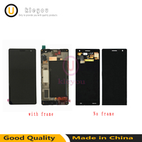 For Nokia Lumia 730 735 LCD Digitizer Display Screen Touch With Frame Panel Assembly Replacement Parts