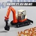 Creativa 1 unid 1:50 17 cm Cadeve ingeniería camión excavadora de oruga grab madera de simulación de aleación modelo de coche de juguete regalo de los niños