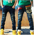 Free Shipping 2016 Spring New Boy Pants Kids Boys Jeans Trousers Children Denim Pants Nzk01