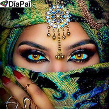 DiaPai Diamond Painting 5D DIY 100% Full Square/Round Drill Beauty character Embroidery Cross Stitch 3D Decor A24750
