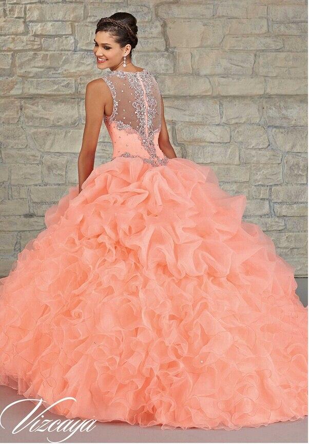 Peach Color Quinceanera Dresses | www.pixshark.com ...
