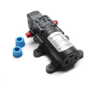 Image 3 - 5.5L/Min DC12V 80W 0142 Motor Hochdruck Membran Wasser Selbst Pumpe Drop Schiff
