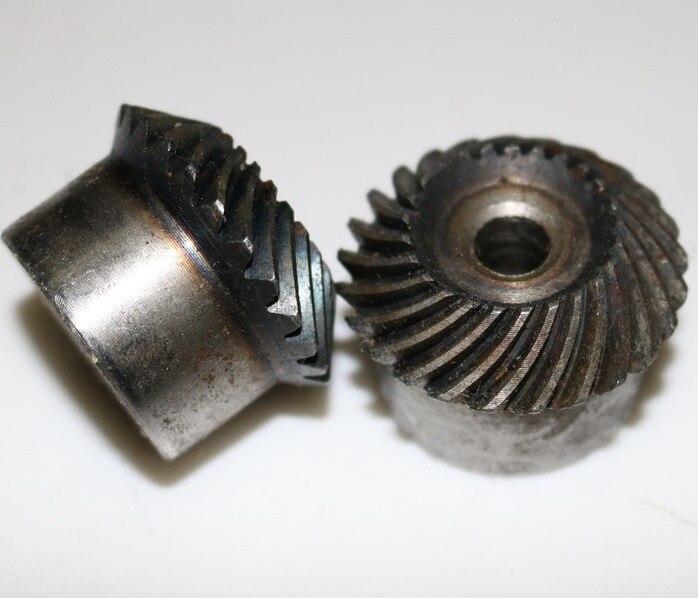 2.5M-25/25 t-1:1 Précision Hélicoïdale Spirale Engrenage conique-Dimaeter: 63mm
