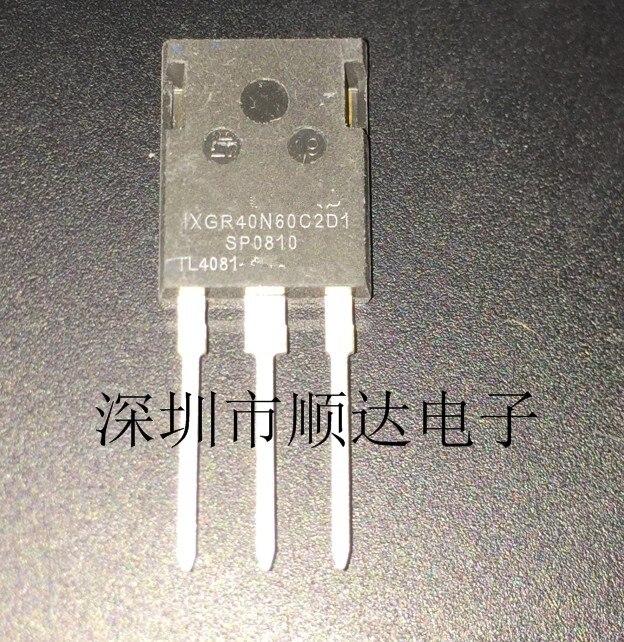 5pcs/lot IXGR40N60C2D1 40N60C2D1 IXGR40N60 TO-3P In Stock