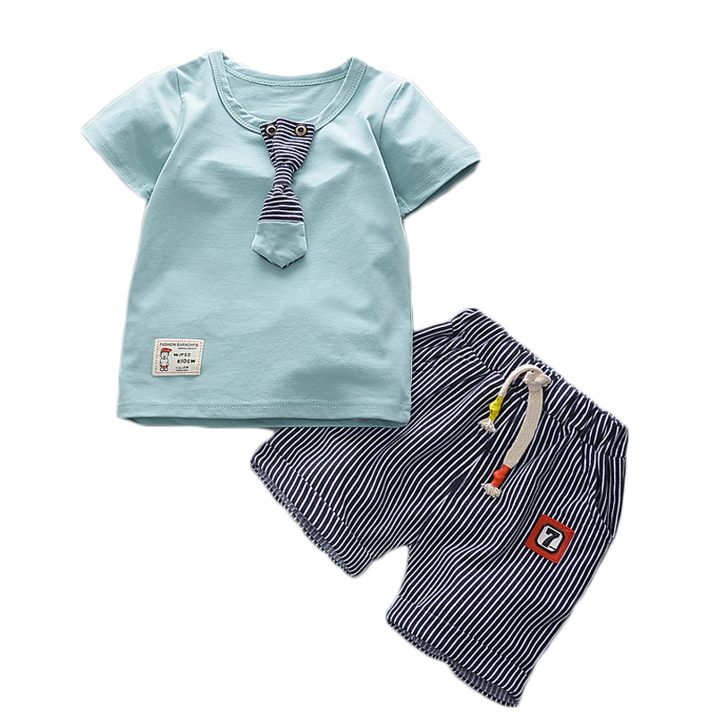 2017New Summer baby sets boys girls clothes short Sleeve T-shirt cotton shorts with Animal print children clothing set suit summer baby boys clothing set cotton animal print t shirt striped shorts sports suit children girls cartoon clothes kids outfit