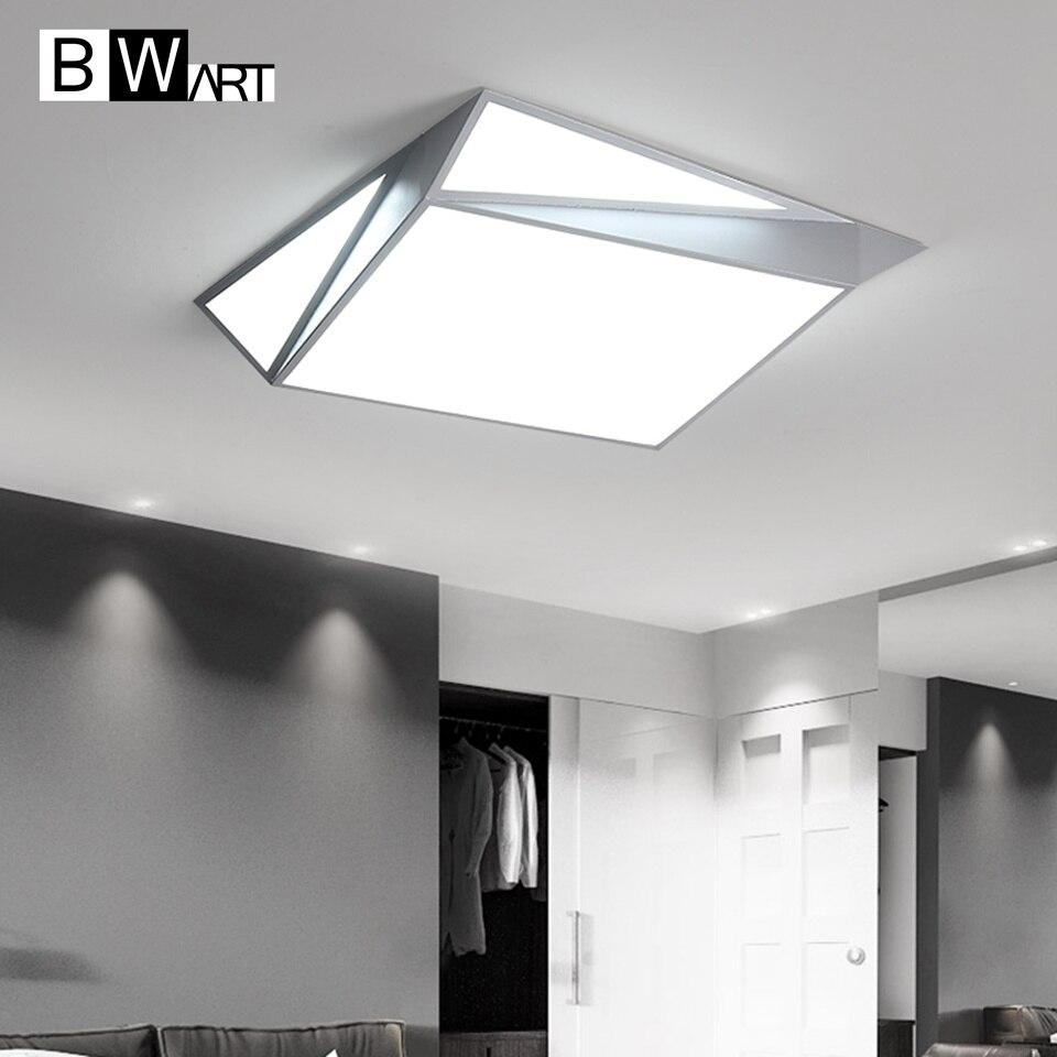Deckenleuchten Bwart Oberfläche Montiert Neue Moderne Led Decke Lichter Lamparas De Techo Rechteck Schlafzimmer Quadratische Decken Lampe Leuchten Schrecklicher Wert