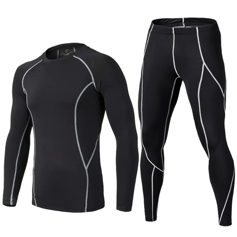2018 Hommes de compression runing pantalon shirts de Basket-Ball maillots survetement football football formation pantalon skinny collants leggings