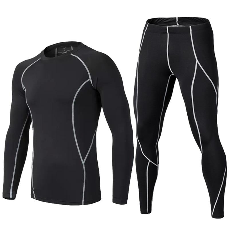 2018 Men compression runing pants shirts Basketball jerseys survetement football soccer training pant skinny tights leggings