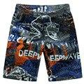 Новые Поступления мужские случайные пять Пляжные шорты лето мужчины марка свободные быстросохнущие шорты мужская море доска шорты