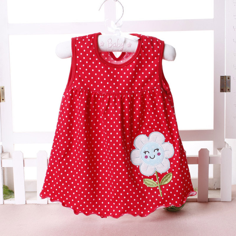 Baby girl Dress summer girls dresses style infantile Dress hot sale baby girl clothes Summer flower style dress for 3-12 months easter gift summer new style cheongsams for little girls chinese dress for children tang suit baby girl princess dresses clothes