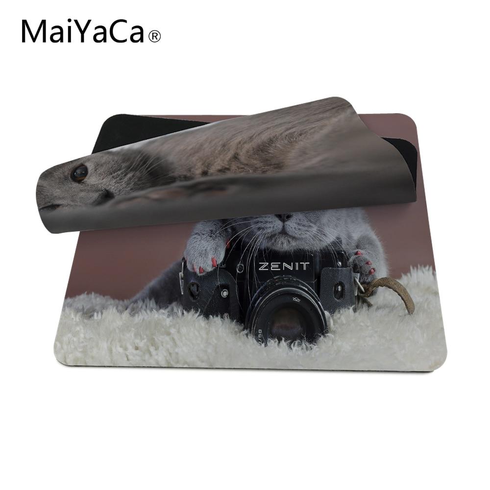 MaiYaCaLuxe Afdrukken Grijze kat met een Zenit-camera Spelontwerp - Computerrandapparatuur - Foto 4