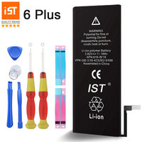 100 IST Original Mobile Phone Battery For IPhone 6 Plus Real Capacity 2915mAh With Repair Tools