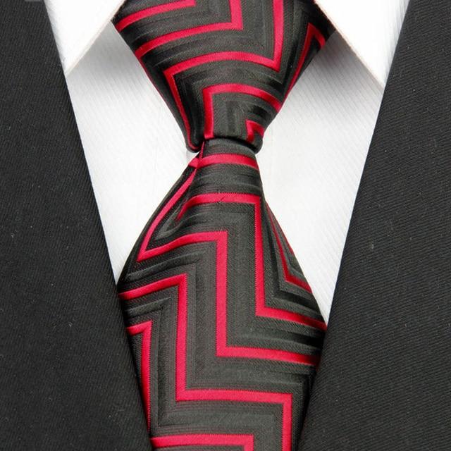 """4""""/10cm Wide Men's Wedding Suit Jacquard Ties  2"""