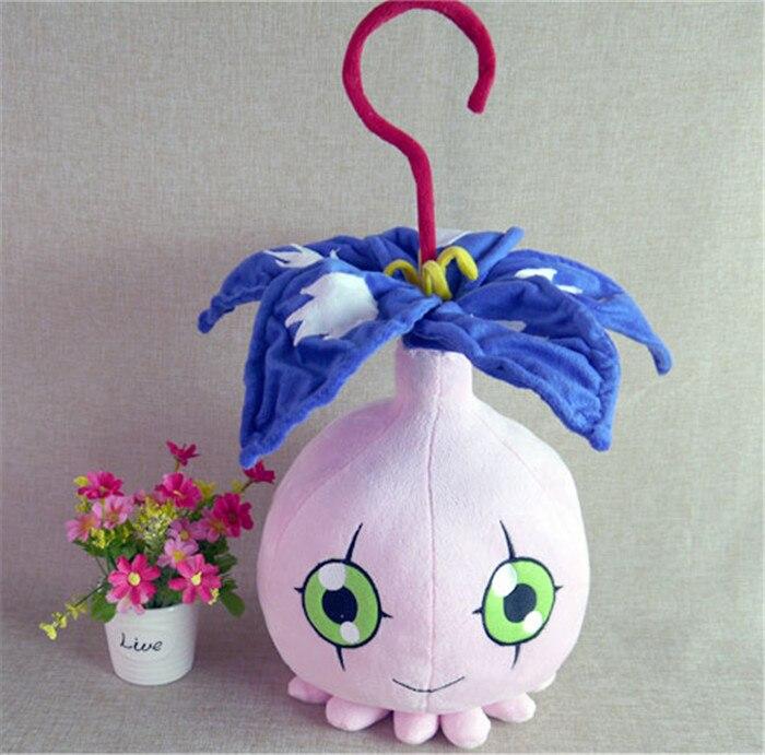 Дигимон цифровой монстров игрушки Аниме pyocomon плюшевые игрушки 45 см короткие куклы п ...