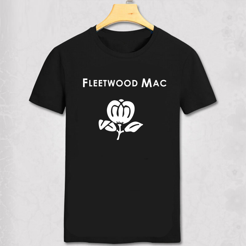 7afcb678 Detail Feedback Questions about Fleetwood Mac T shirt Rumours Stevie Nicks  Fleetwood Mac flower printed cotton short sleev t shirt summer wear top tee  on ...
