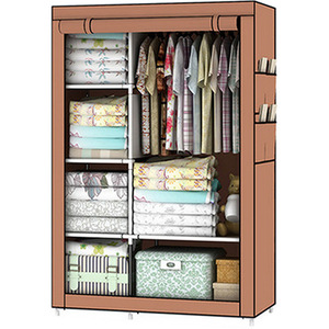 Image 5 - Bedroom Furniture For Home Storage Cabinet Door Wardrobe For Clothing Nonwoven Fabric Storage Clothes In The Closet In Moscow