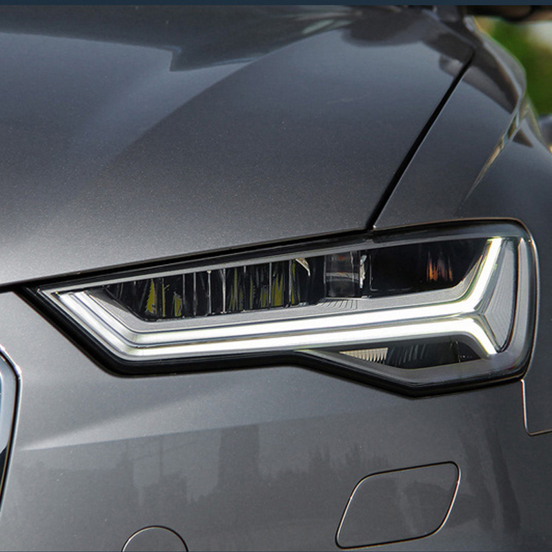 Newest 2012-2018 super bright all LED light source Audi A6L Matrix headlight assembly with led drl and led module light source