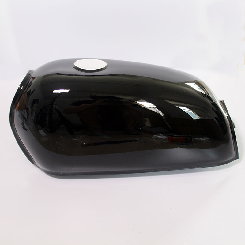 Image 2 - Universal Black Motorcycle 6L Gal Capacity Fuel Tank Dominator Gas For Retro Cafe Racer Tank  Honda Jialing70-in Fuel Tank from Automobiles & Motorcycles