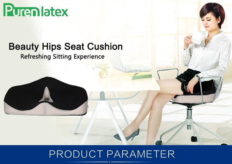 HTB12EpPcqSs3KVjSZPiq6AsiVXav Coccyx Memory Foam Chair Orthopedic Pillow Office Seat Pad Hemorrhoid Treat Car Seat Big Cushion Relief Pain Tailbone Pillow