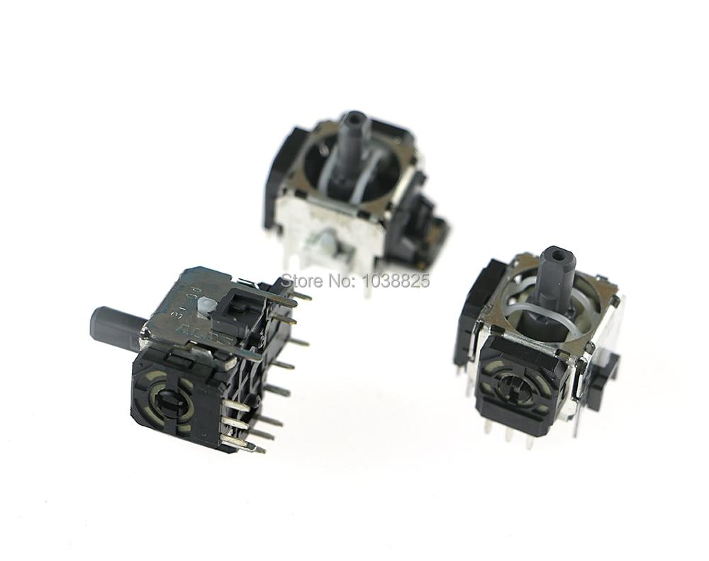 Original 3 Pin 3D Rocker Joystick Control Rocker 3d Joystick For Ps3 PS4 Wireless Controller With ALPS(no Vibration )