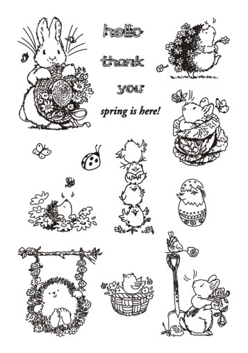 Hedgehog Transparent Clear Silicone Stamp/Seal for DIY scrapbooking/photo album Decorative clear stamp sheets A707 lovely animals and ballon design transparent clear silicone stamp for diy scrapbooking photo album clear stamp cl 278