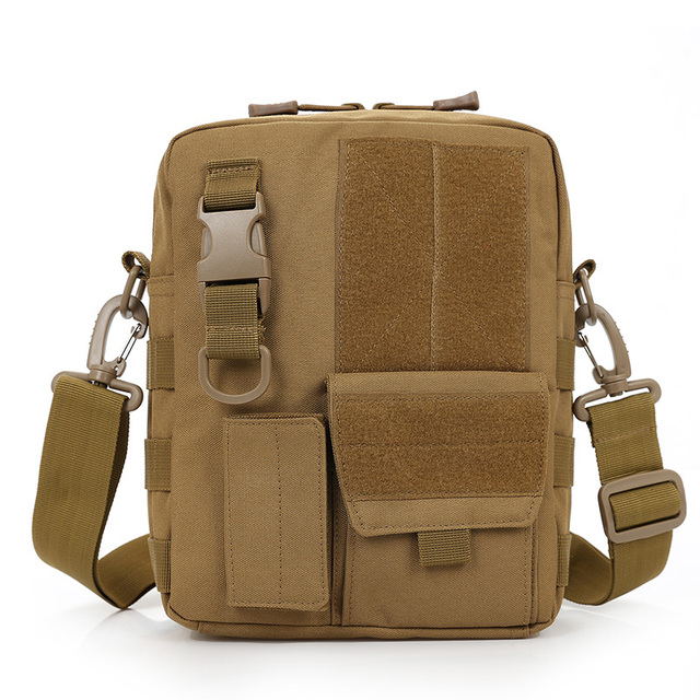 Army Multi Function Waterproof Tablet Pc Nylon Pack Bag Military Molle Shoulder Men S Messenger