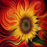 Sunflower Diamond Painting Cross Stitch 30*45cm Partial Finished Picture Wall Decoration