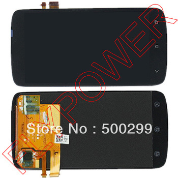 все цены на  100% warranty LCD With Touch Screen Digitizer Assembly For HTC One S Z520e by free DHL, UPS or EMS; 10pcs/lot  онлайн