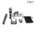 Kit 7in1 de 8x de Zoom de Teleobjetivo Teléfono 3in1 Fisheye Gran Angular Macro Lente de La Cámara Montaje de Trípode Obturador Bluetooth Para Teléfono Inteligente