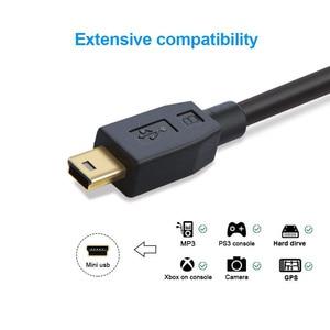 Image 3 - Mini USB naar USB C Kabel, USB C naar Mini B Cord voor GoPro Hero 3 +, PS3 Controller & Mini B Apparaten