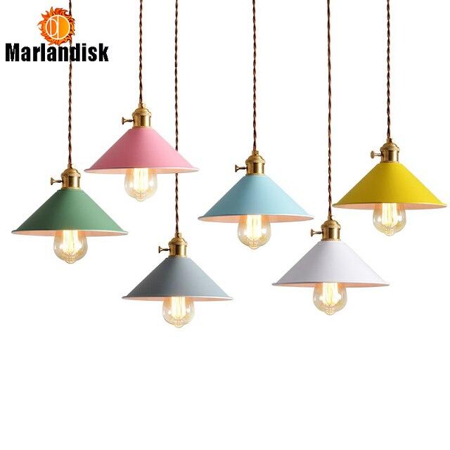 E27 Pendant Lamp,22CM/26CM Pink White Diningroom Pendant Light Multicolour Retro Industrial Restaurant Pendant Lights(DA-50)