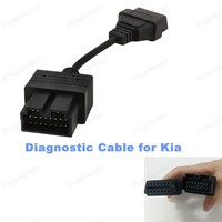 Diagnostic Scanner Cable For Kia 20 Pin To 16 Pin OBD2 Car Diagnostic Cable Free Shipping