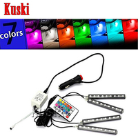 Car LED Interior Light With Remote Control For Volkswagen VW Polo Passat B5 B6 CC Golf