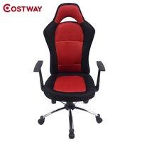 COSTWAY Ergonomic Office Computer Chair Armchair Executive Chair High Back Lift Chair Swivel Chair Office Furniture CB10049