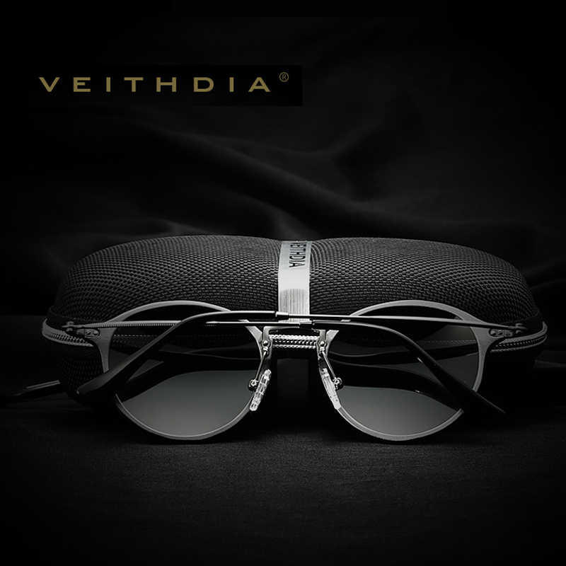 3b7b5f334b1 ... VEITHDIA Brand Designer Fashion Unisex Sun Glasses Polarized Coating  Mirror Sunglasses Round Male Eyewear For Men ...