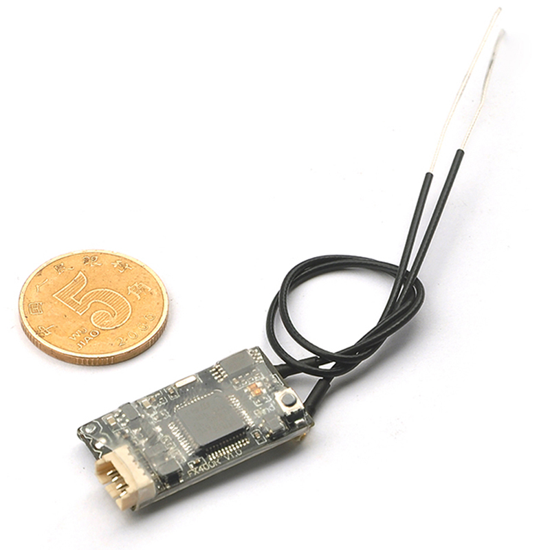 Frsky D16 Mini Micro Receiver with integrated smart port Bidirectional return Telemetry for RC Model Compatible 2.4G SBUS Output frsky smart port lipo sensor flvss replacement part