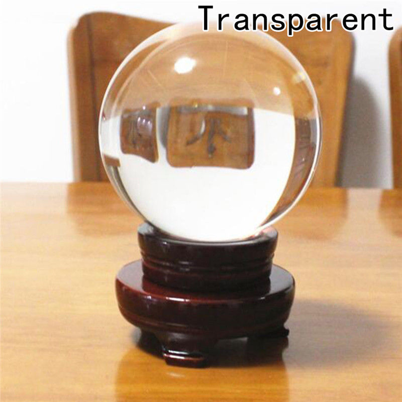 80mm Crystal Photography Lens Ball Photo Prop Background Lensball Home Decor