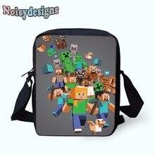 Lady Minecraft Cute Girls Children Mini Book Bags Unisex Students Messenger  Bag Women s Fashion Handbag minecraft 279b6422b14c9
