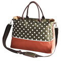 Multifunction Baby Diaper Bag Nappy Changing Tote Bags Dot Colour