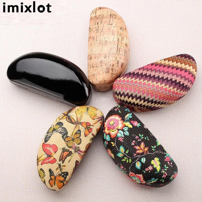 Imixlot 1 unid cuero nuevo diseño Gafas de sol caja Marcos Cajas de ...