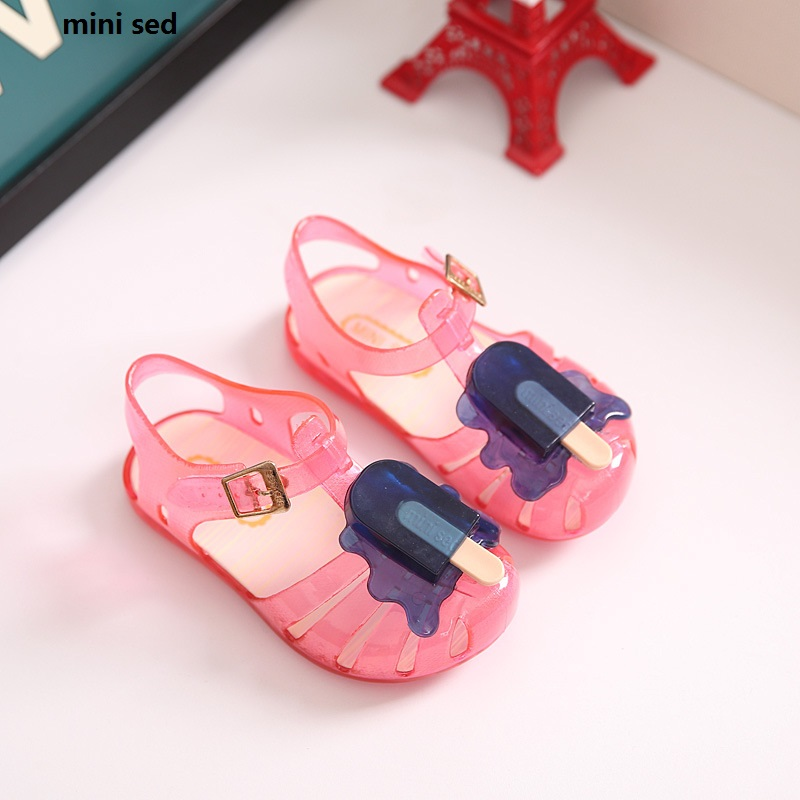 2018 New Girls Fashion Sandals Children Shoes For Kids Summer Beach Shoes For Little Girls Fashion Transparent Sandals For Baby|sandals children|summer shoes for kids|beach shoes for kids - title=