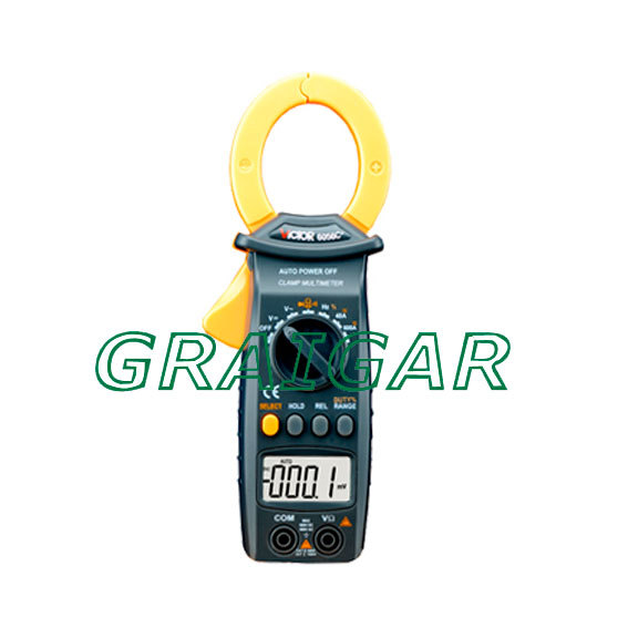 ФОТО VICTOR 6056C+ VC 6056C+ 3-3/4 Digital Clamp Meter Non-contact measurement, to improve the measurement safety; Jaw open 35mm