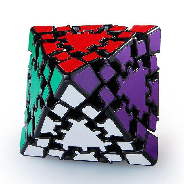 Engranaje LanLan 8-Axis octaedro cubo mágico negro