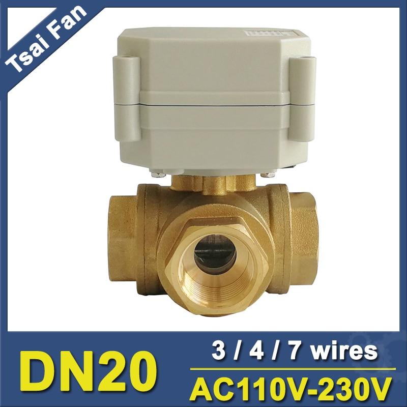 Tsai Fan Elektrische Wasserventil TF20-BH3-C Messing 3/4 \'\'DN20 3 ...