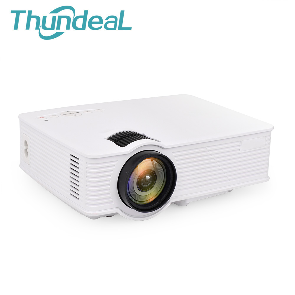 ThundeaL GP9 Mini Projector HD 3D Beamer Home Theater Portable Video HDMI USB AV SD LCD Optional ( GP9W WiFi Android Projector ) unic uc40 mini portable projector hdmi home theater beamer multimedia proyector usb av sd hdmi ir video projector